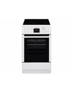 De Witgoed Outlet-AEG CIB56400BW Inductie fornuis A-aanbieding